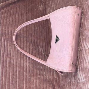 Prada Inauthentic Pink Crocodile Handbag